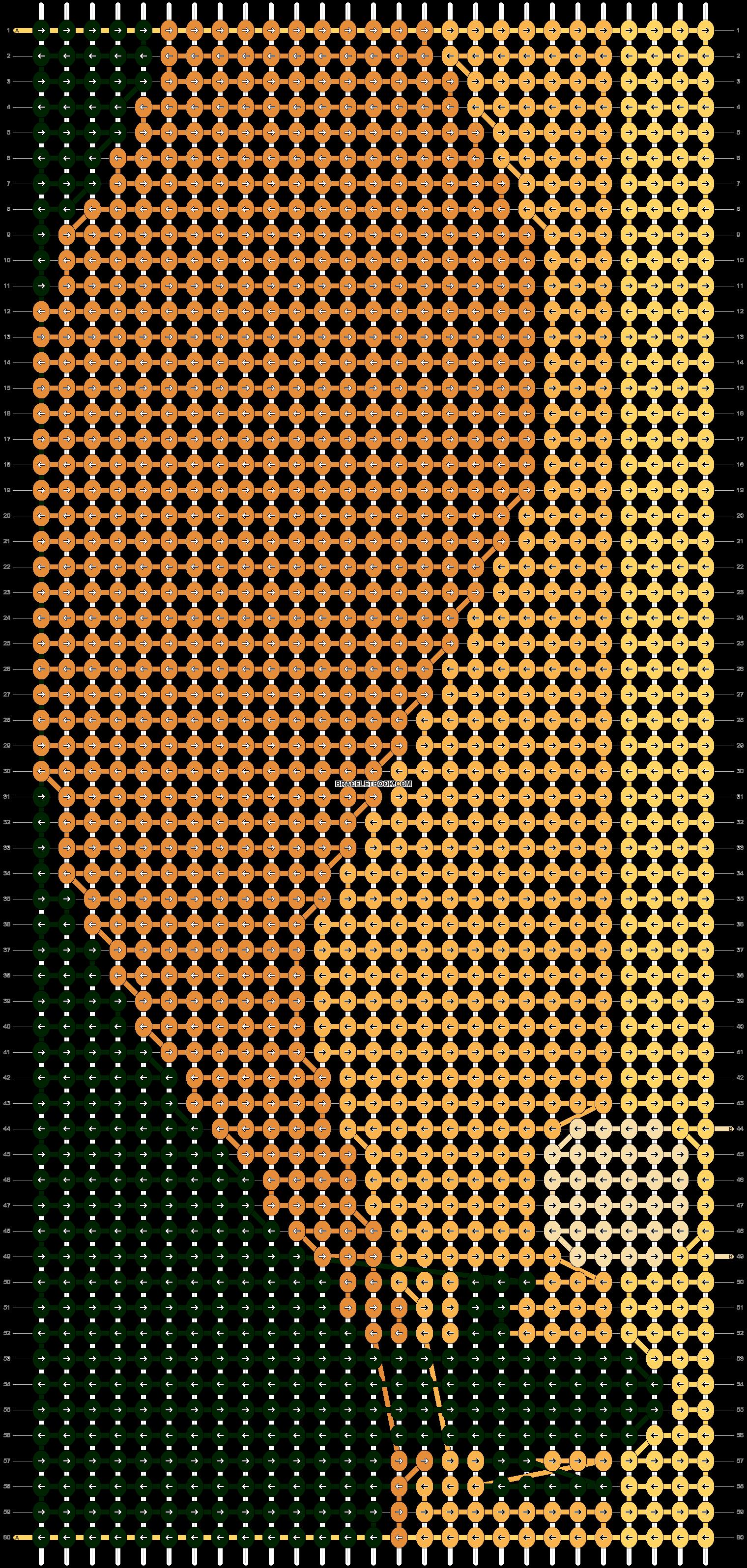 Alpha pattern #14120 pattern