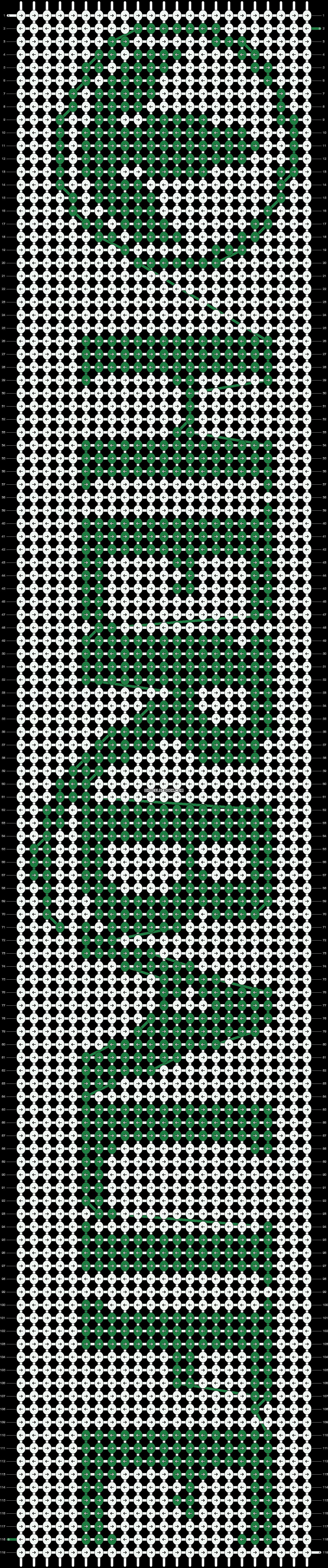 Alpha pattern #14122 pattern