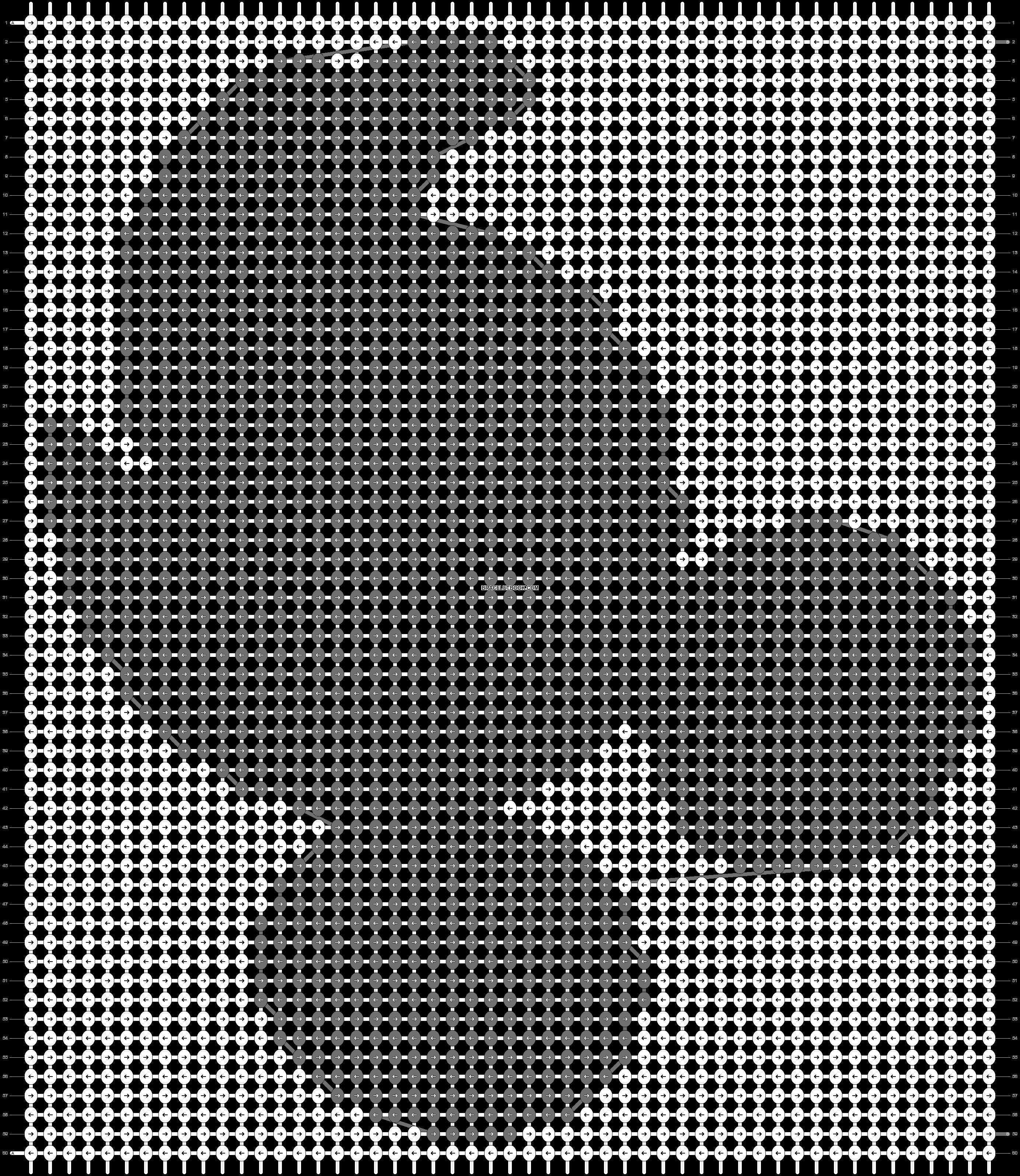 Alpha pattern #14128 pattern