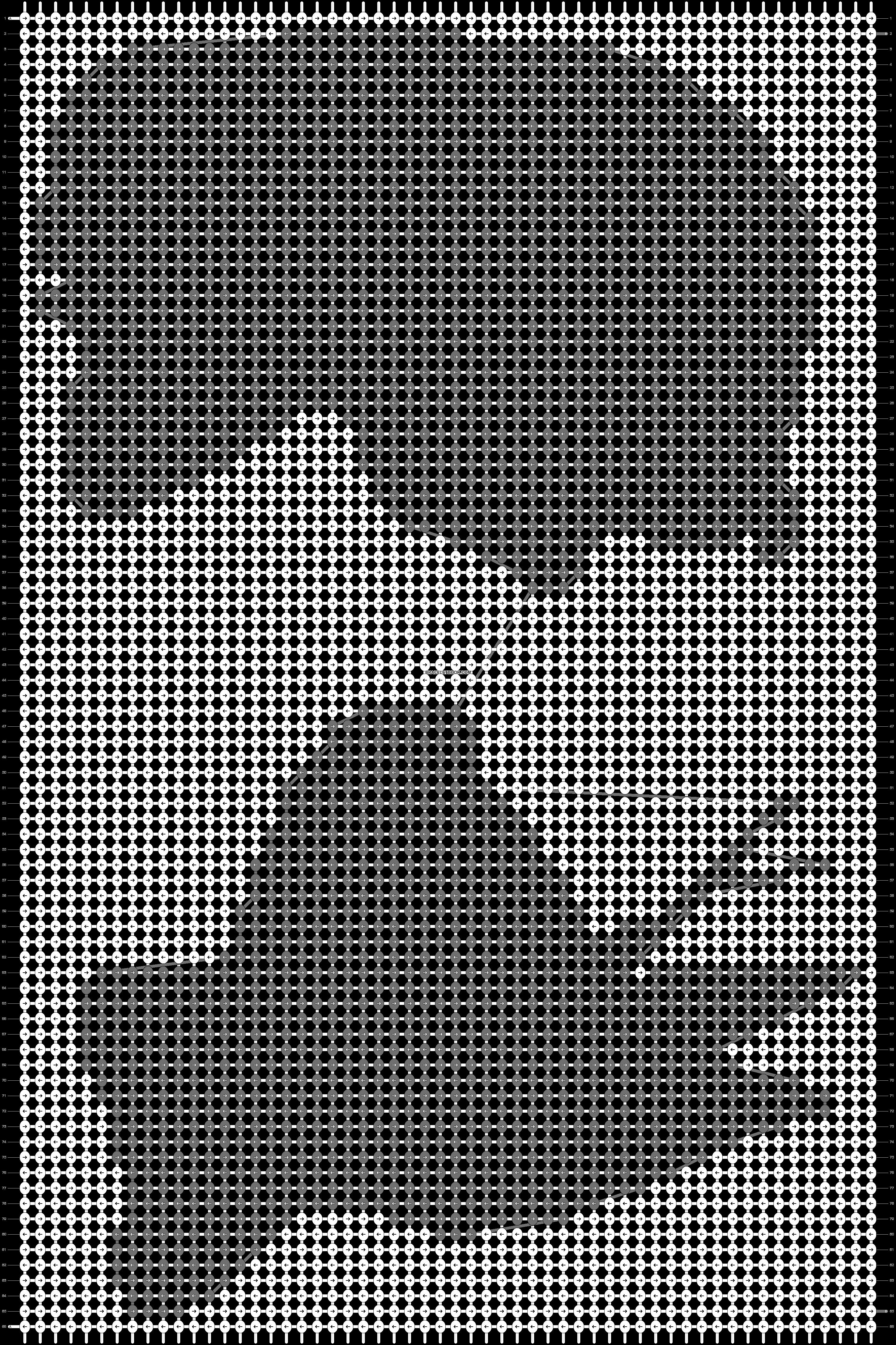 Alpha pattern #14129 pattern