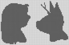 Alpha pattern #14129