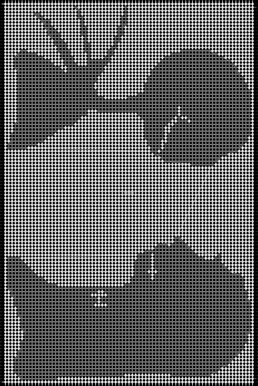 Alpha pattern #14130 pattern