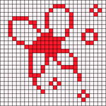 Alpha pattern #14136