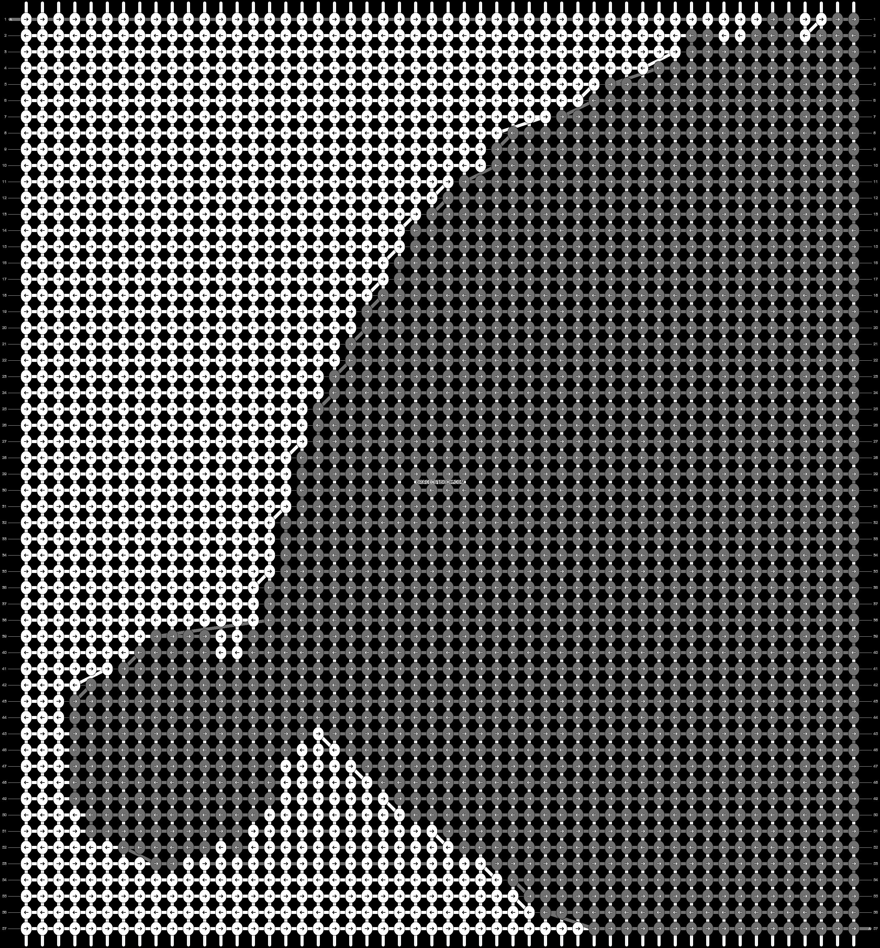 Alpha pattern #14137 pattern