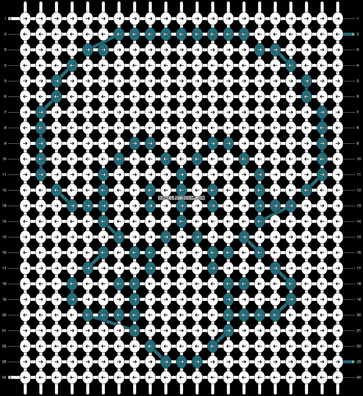 Alpha pattern #14139 pattern