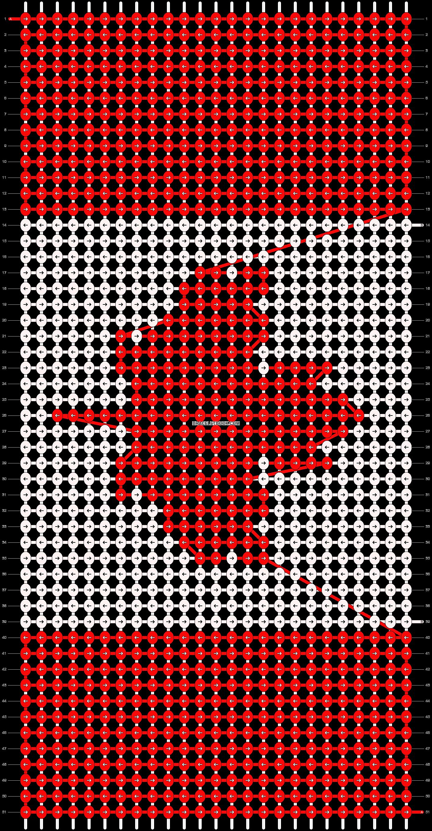Alpha pattern #14140 pattern
