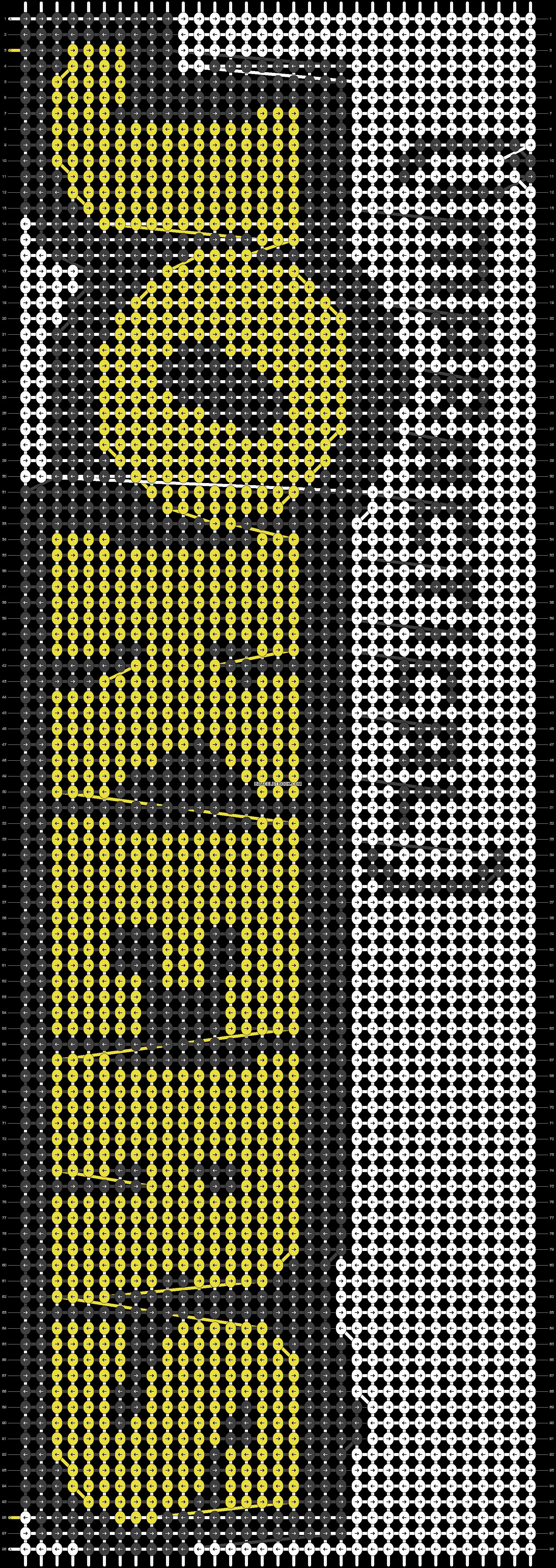 Alpha pattern #14146 pattern