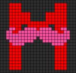 Alpha Friendship Bracelet Pattern #14153