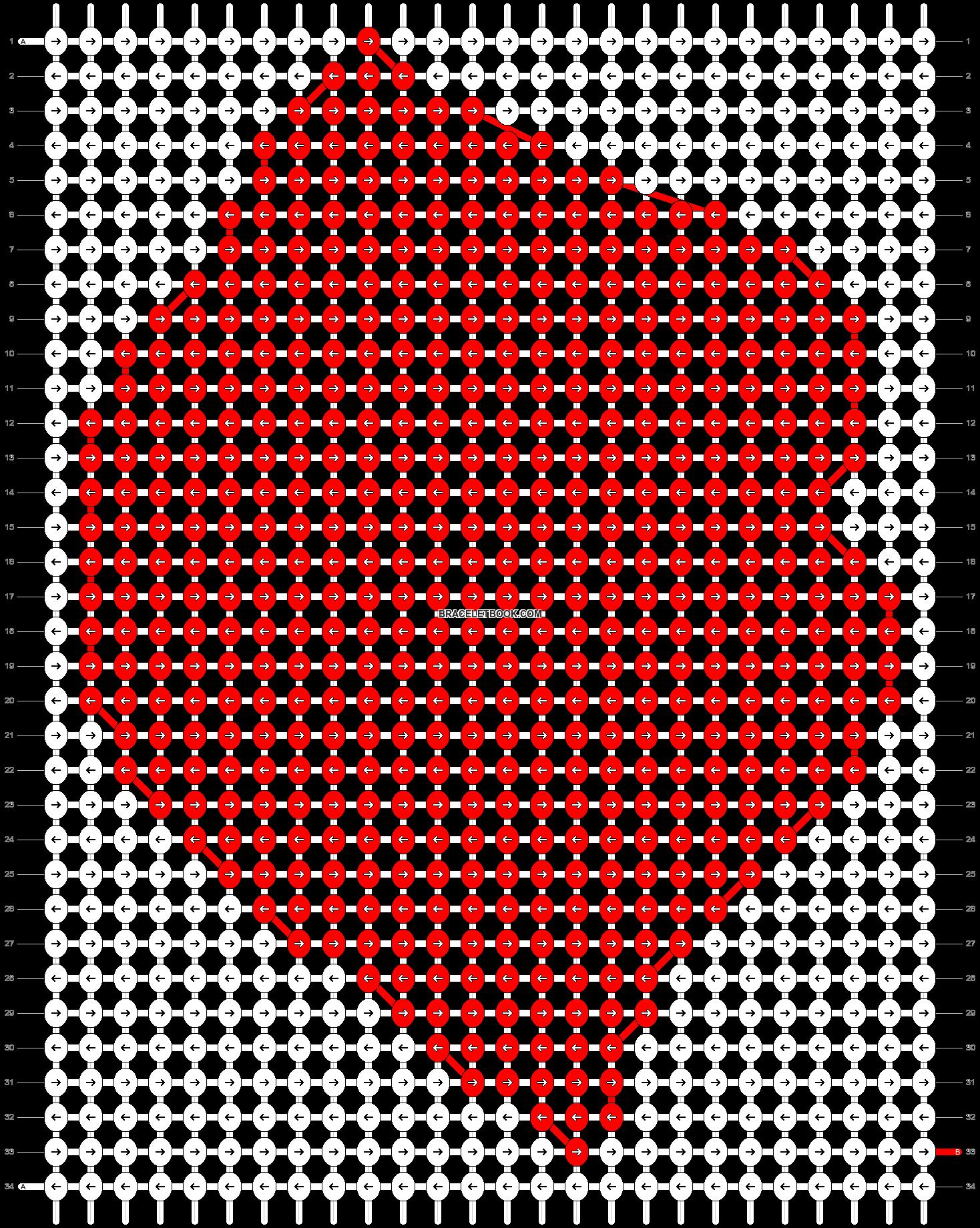 Alpha pattern #14154 pattern
