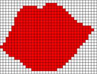 Alpha pattern #14154