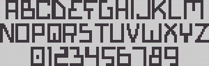 Alpha pattern #14162
