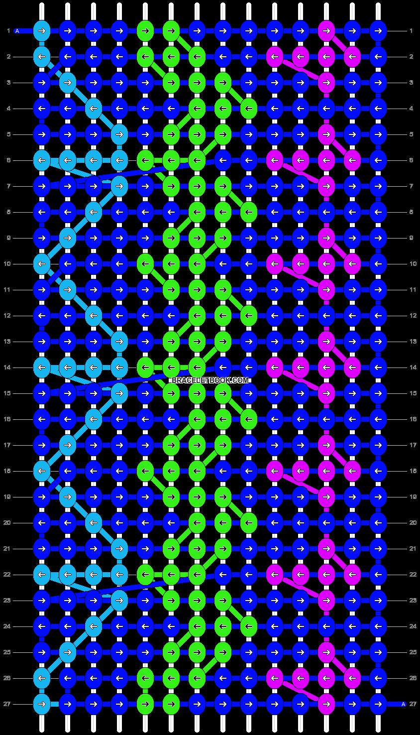 Alpha pattern #14168 pattern