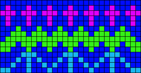 Alpha pattern #14168
