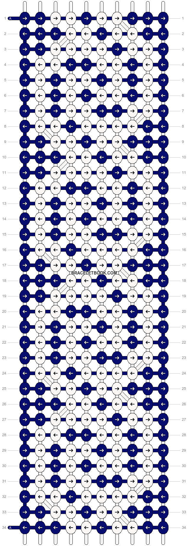 Alpha pattern #14178 pattern