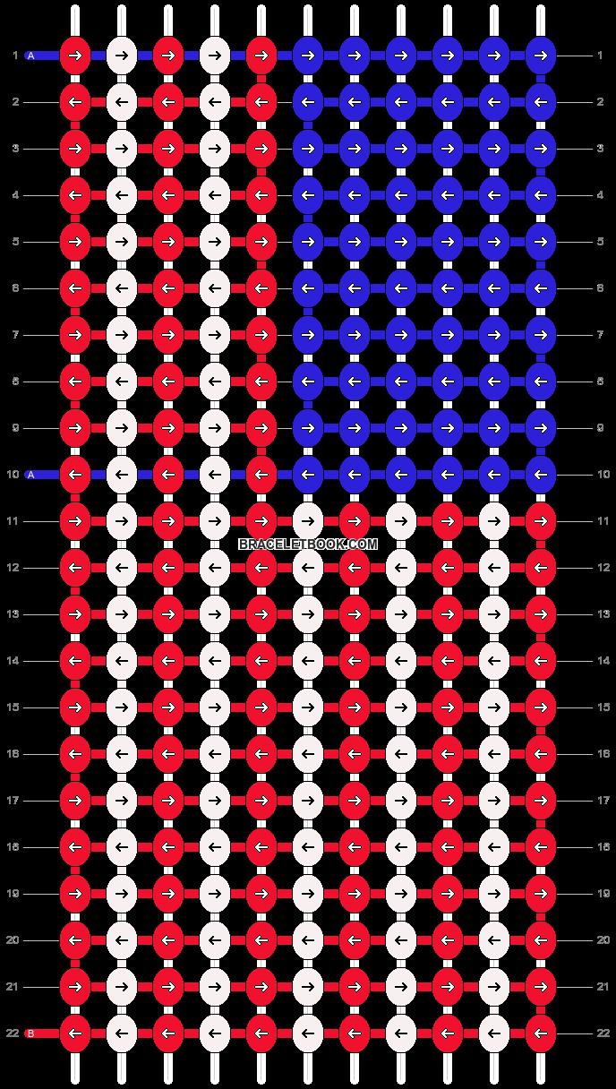 Alpha pattern #14179 pattern