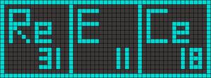 Alpha pattern #14181