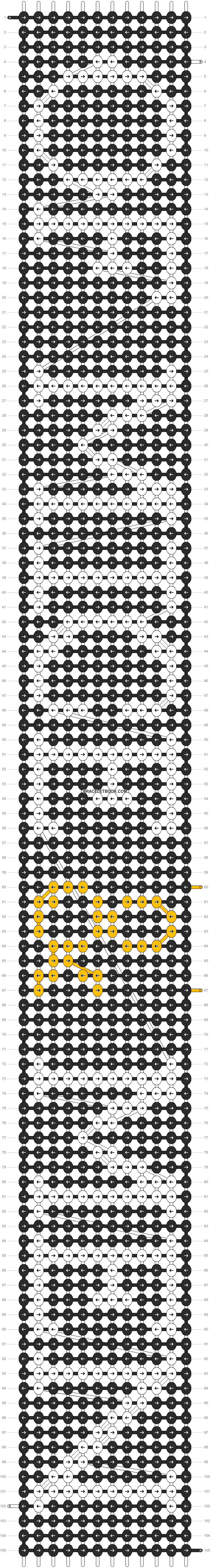 Alpha pattern #14185 pattern