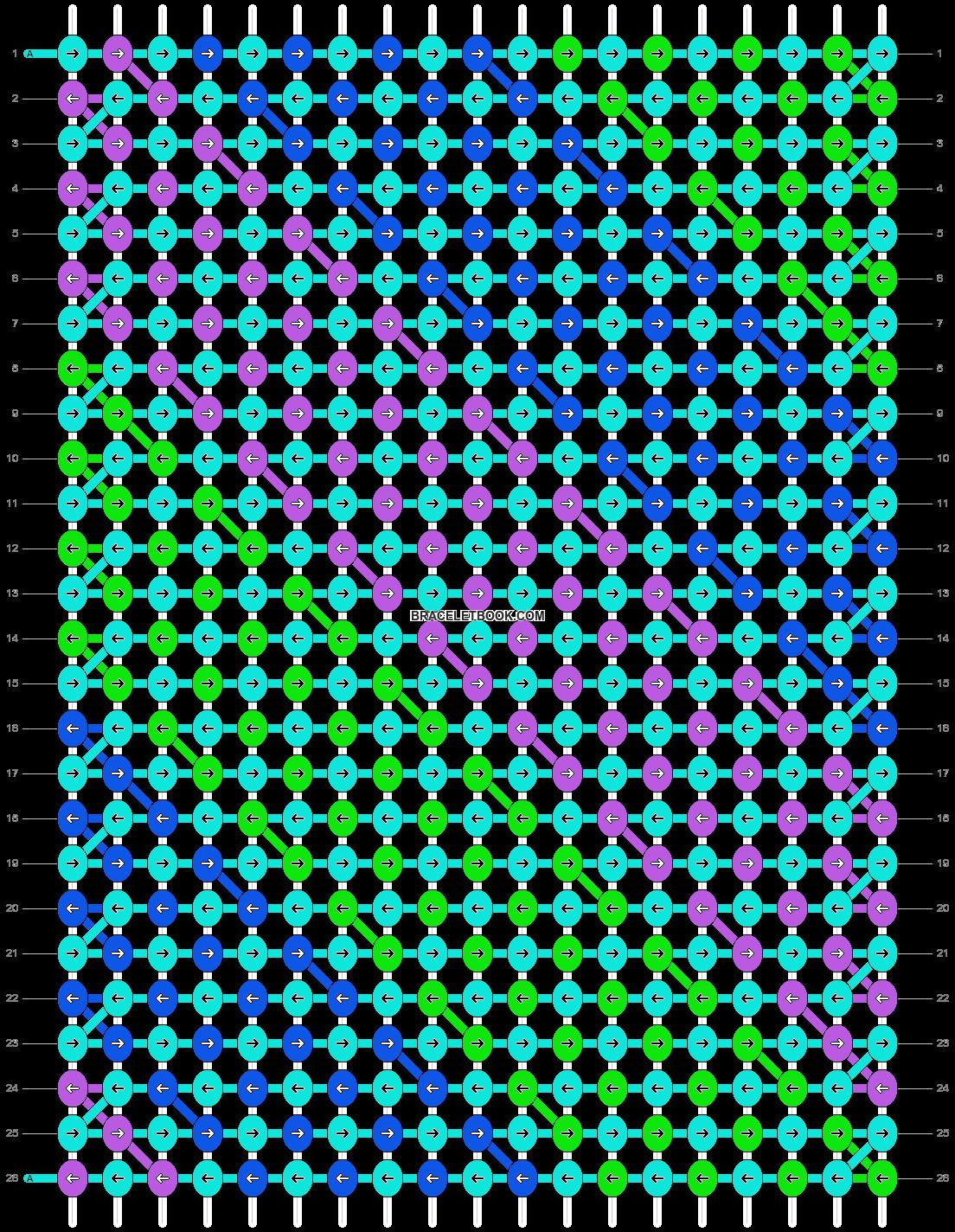 Alpha pattern #14188 pattern