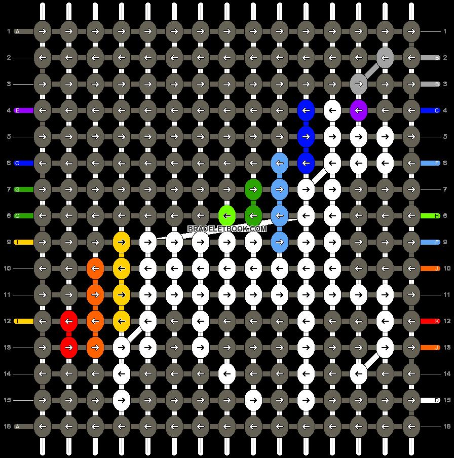 Alpha pattern #14189 pattern
