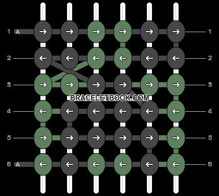Alpha pattern #14190 pattern