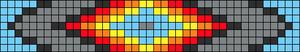 Alpha Friendship Bracelet Pattern #14199