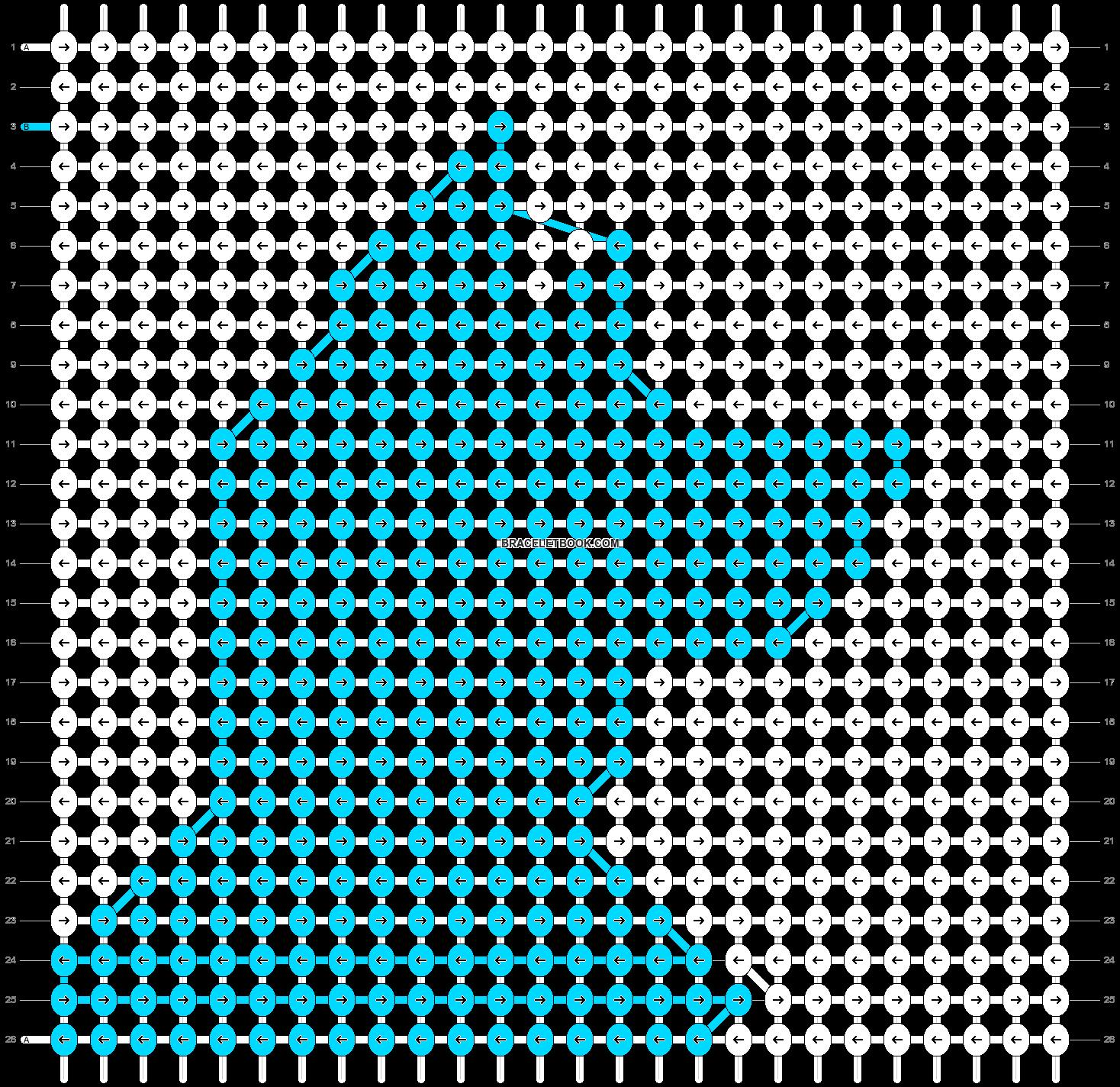 Alpha pattern #14200 pattern