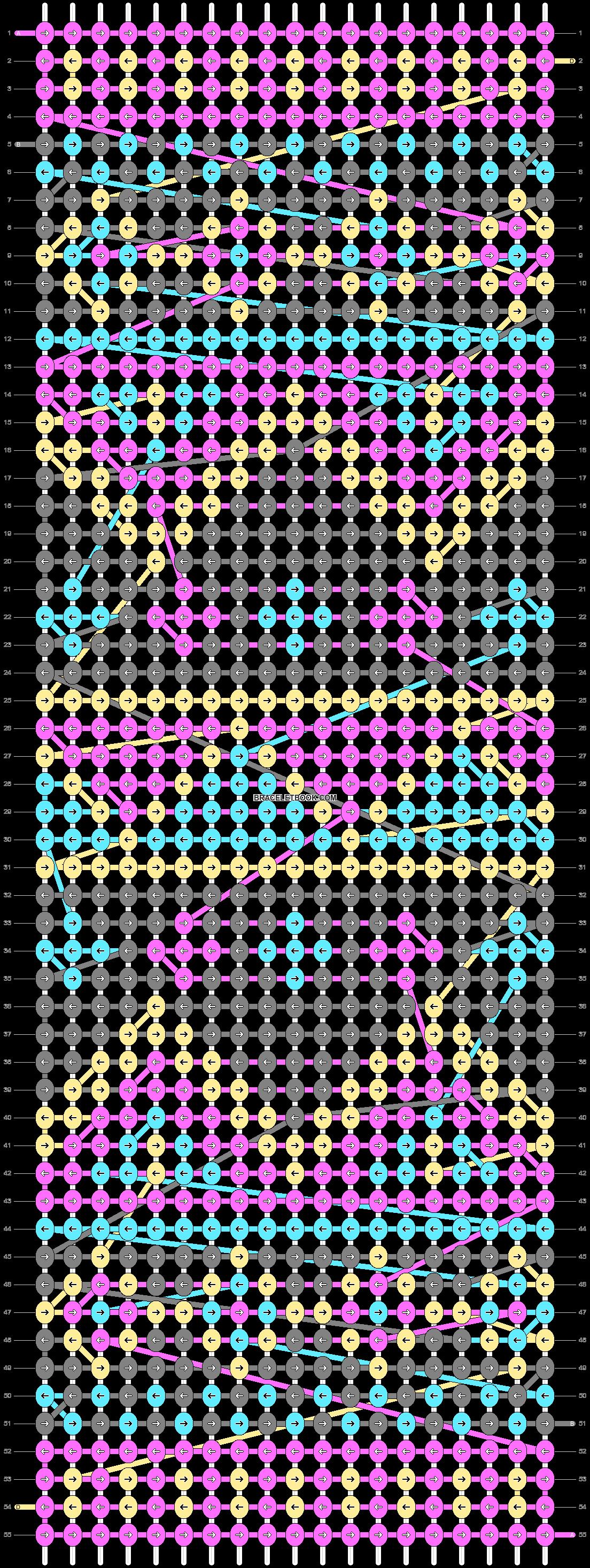 Alpha pattern #14206 pattern