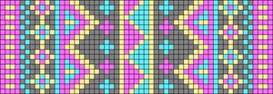 Alpha Friendship Bracelet Pattern #14206