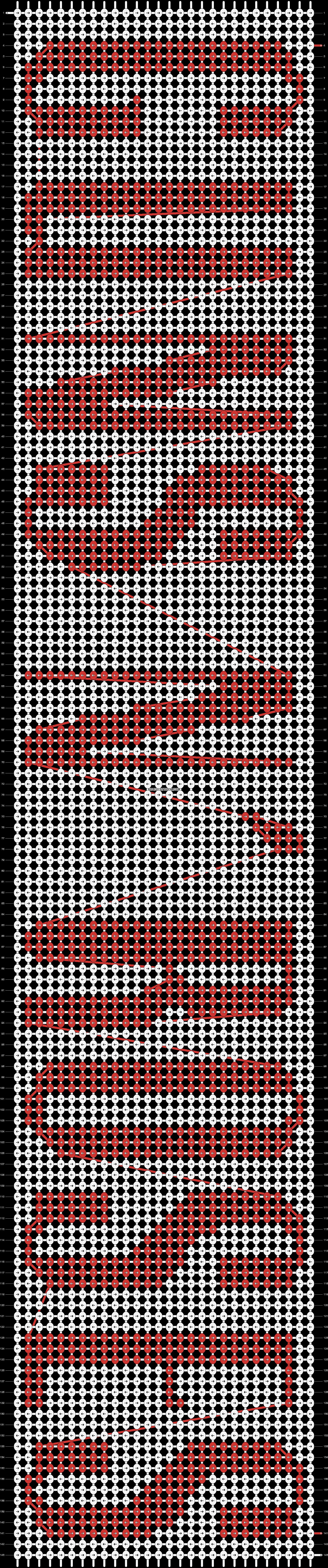 Alpha pattern #14217 pattern