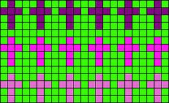 Alpha Friendship Bracelet Pattern #14218