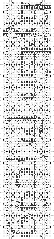 Alpha pattern #14224 pattern