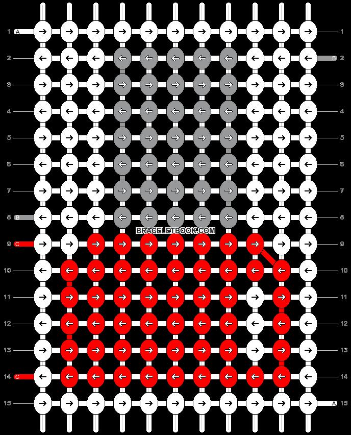 Alpha pattern #14232 pattern