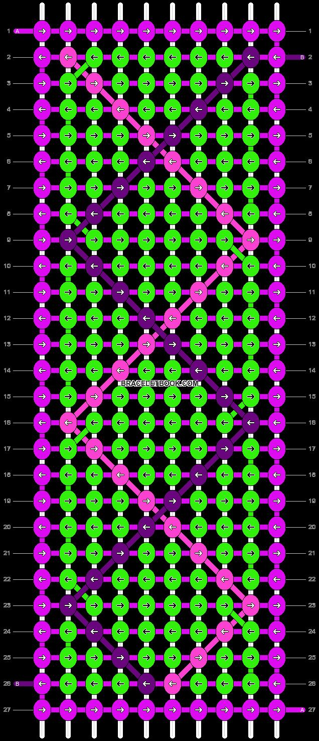 Alpha pattern #14234 pattern