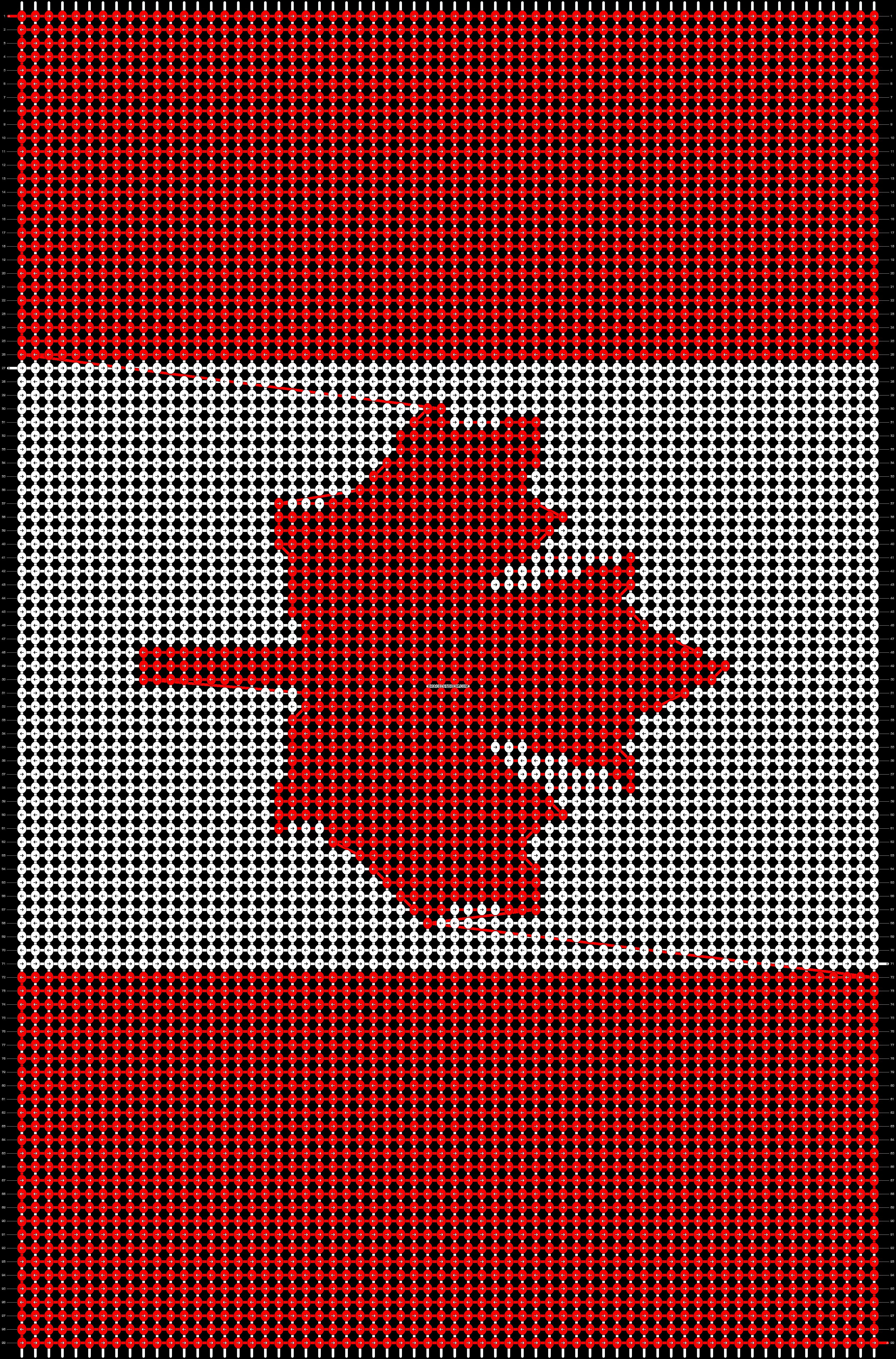 Alpha pattern #14240 pattern