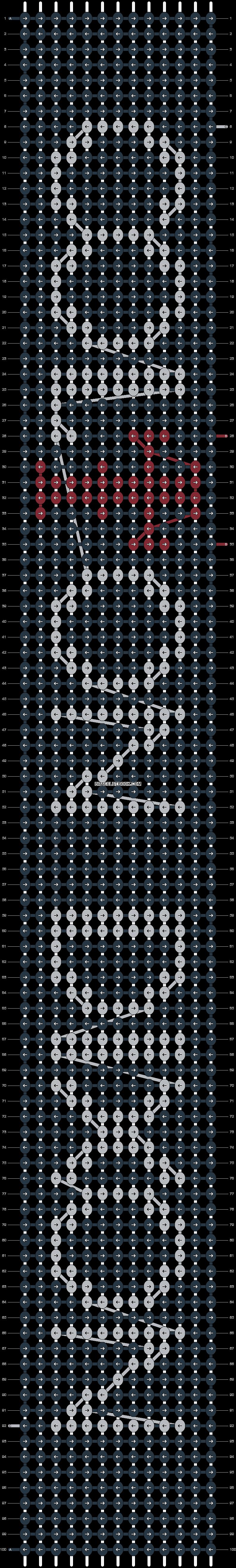 Alpha pattern #14245 pattern