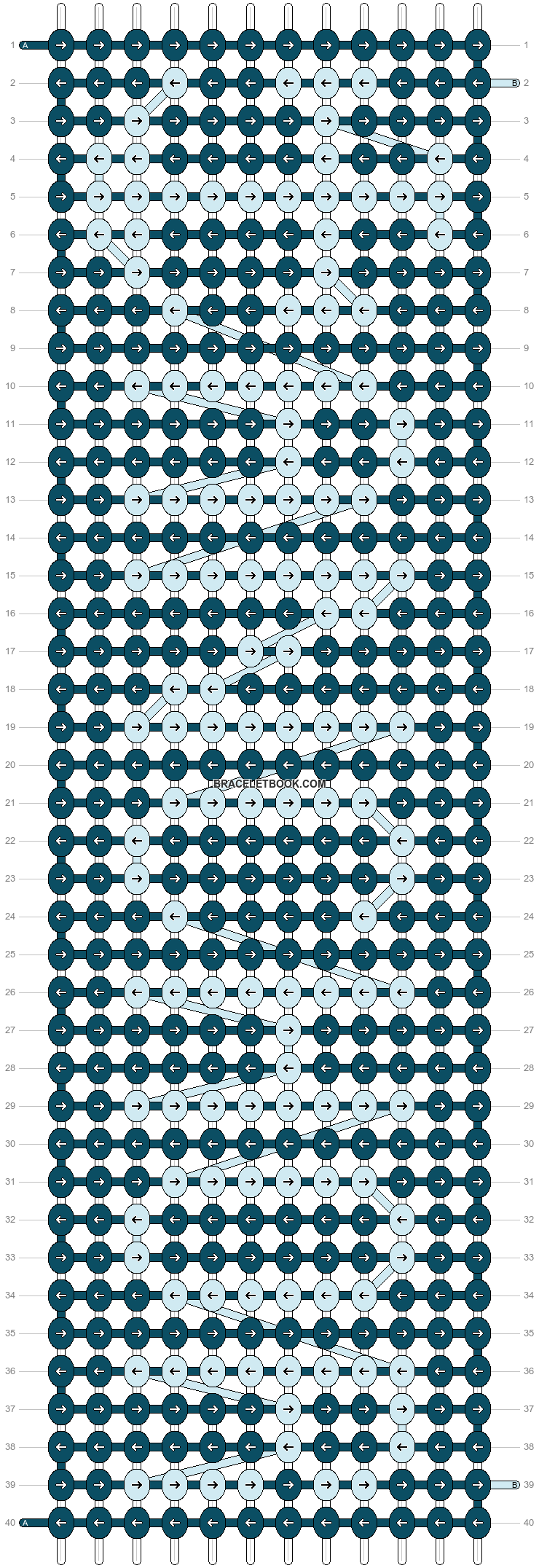 Alpha pattern #14247 pattern