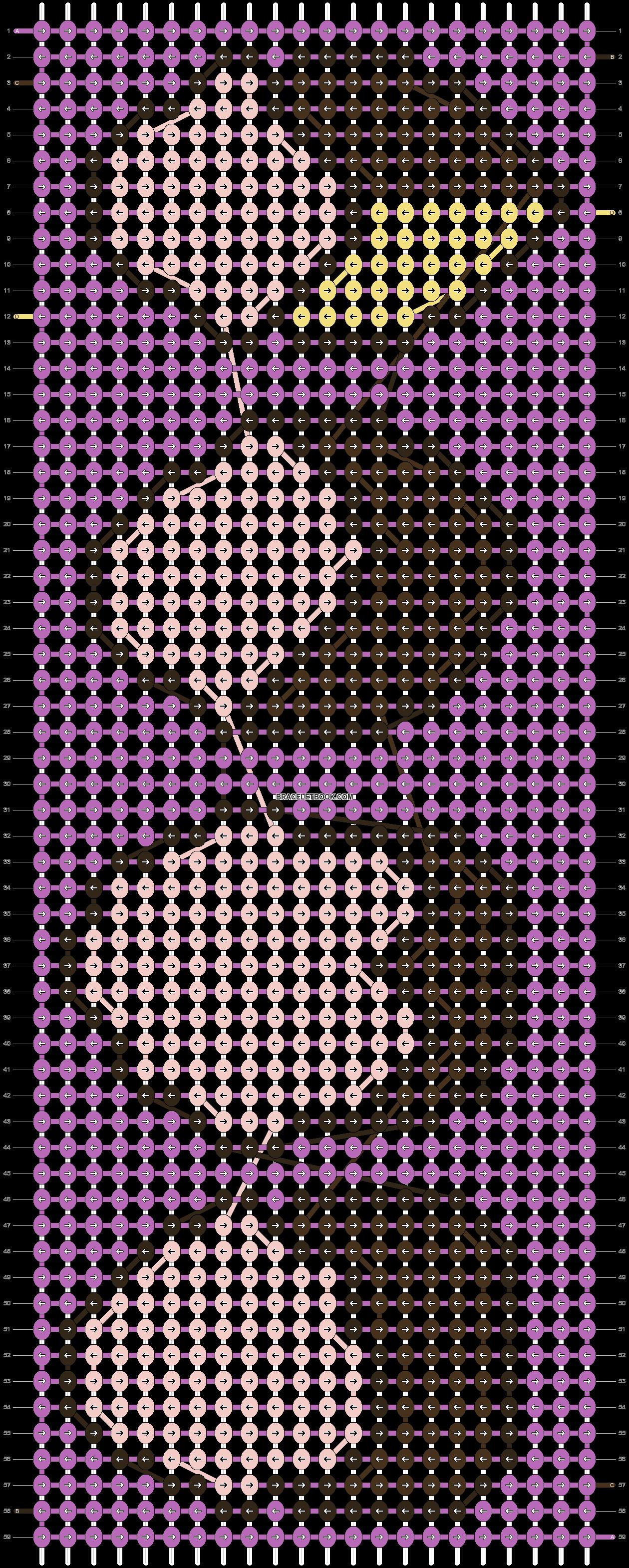 Alpha pattern #14252 pattern