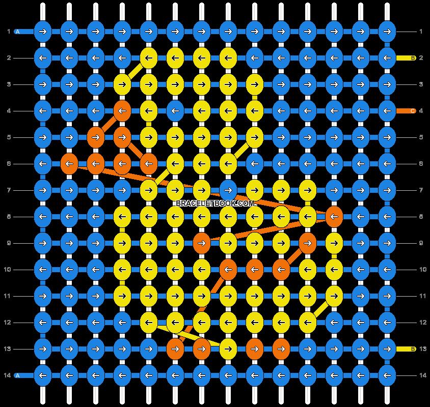 Alpha pattern #14253 pattern