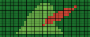 Alpha pattern #14260