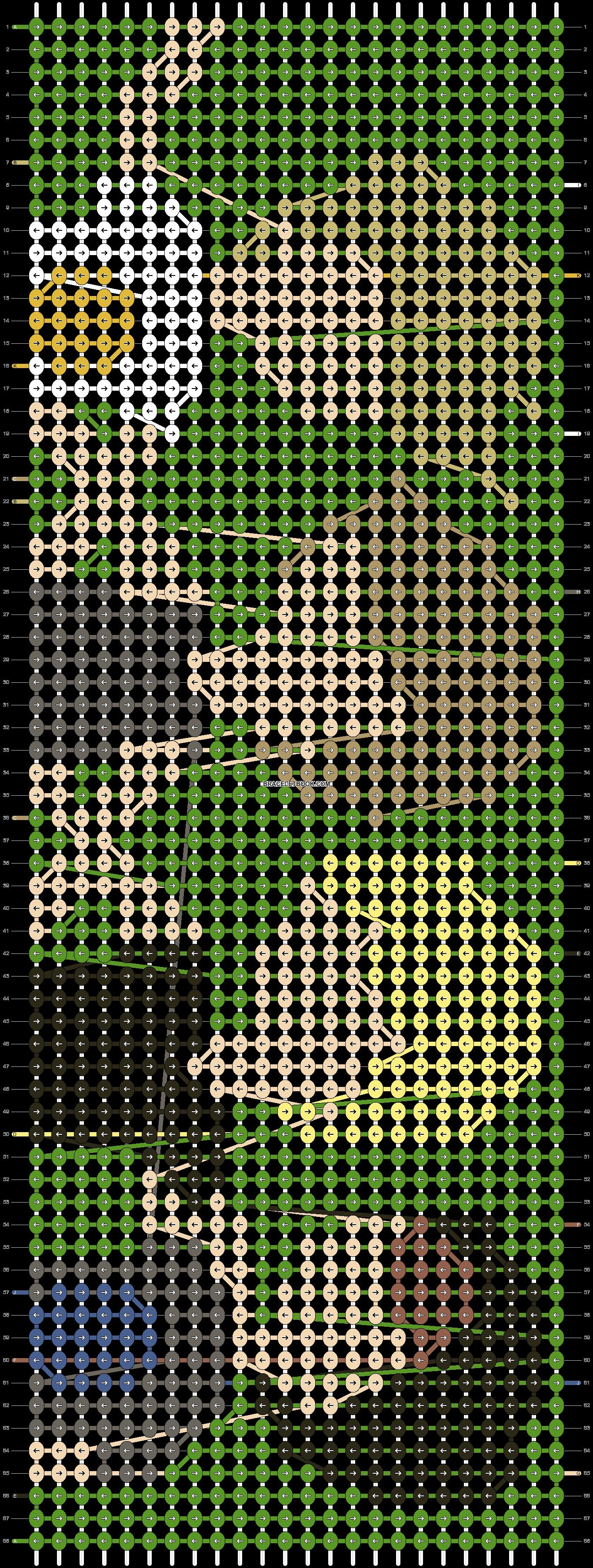 Alpha pattern #14267 pattern