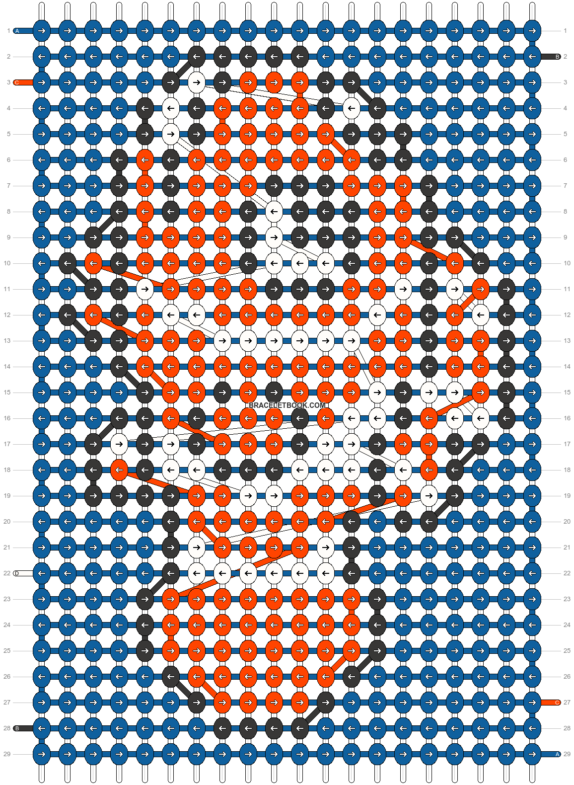 Alpha pattern #14270 pattern