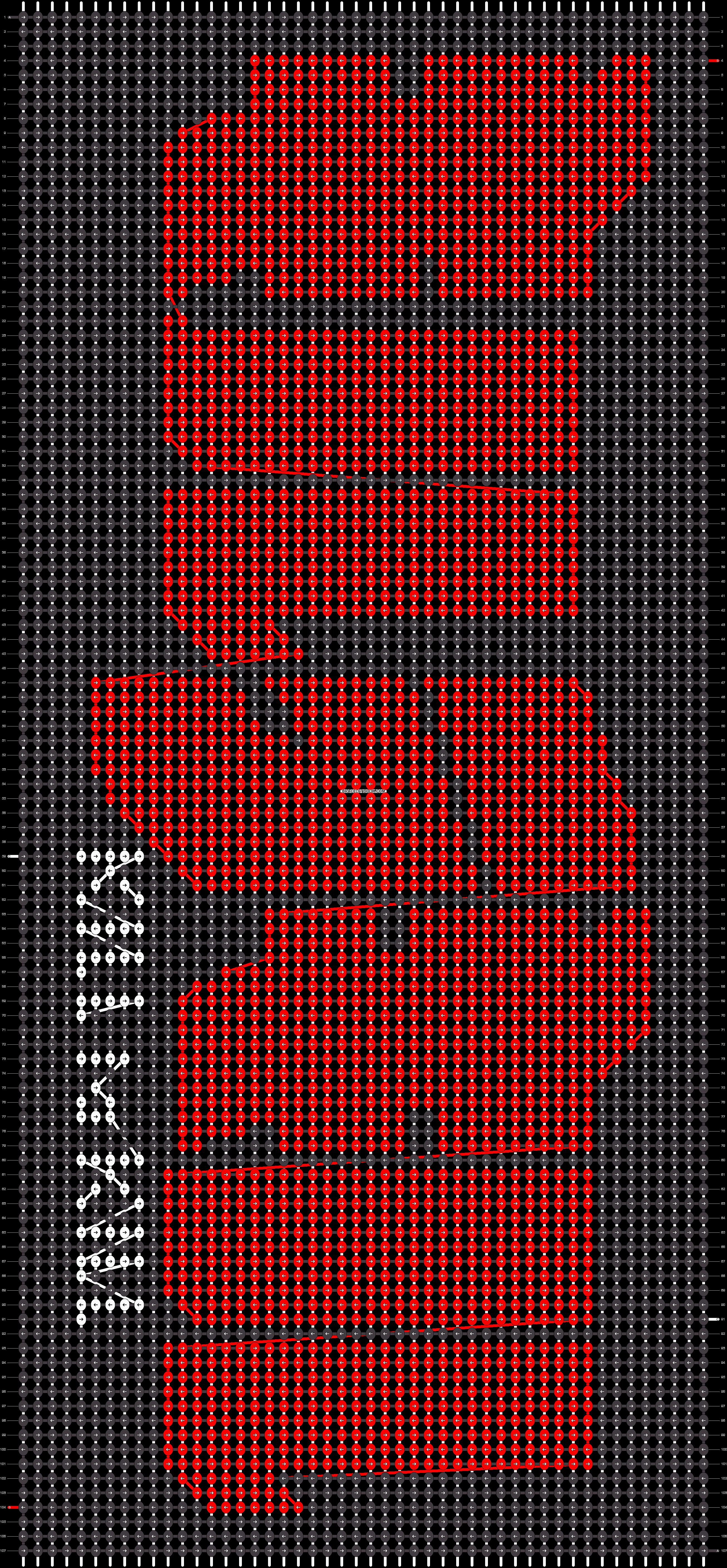 Alpha pattern #14272 pattern