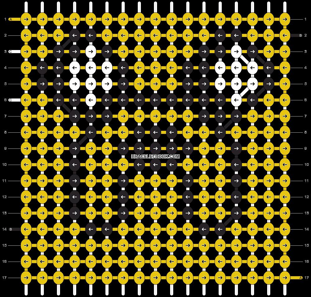 Alpha pattern #14283 pattern