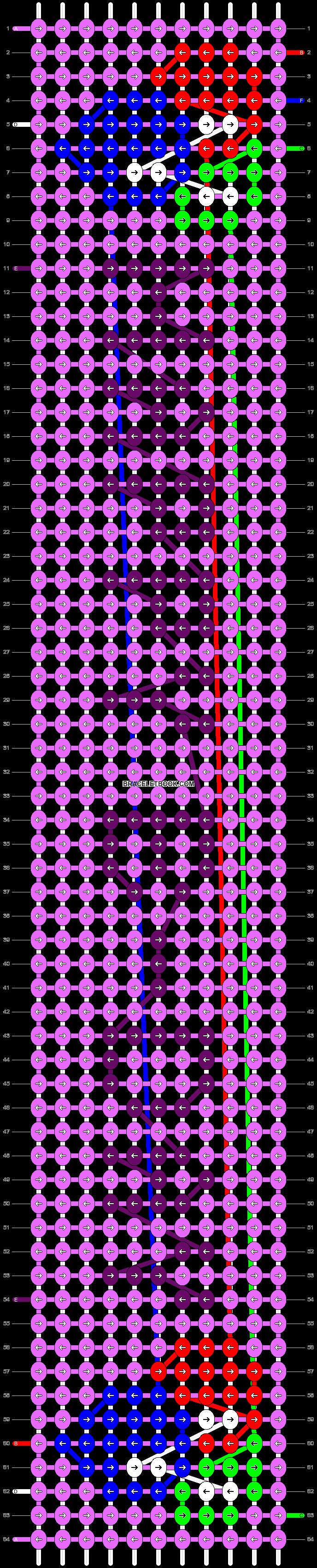 Alpha pattern #14286 pattern