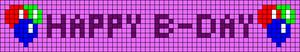 Alpha pattern #14286