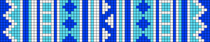 Alpha Friendship Bracelet Pattern #14293