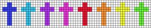 Alpha pattern #14295