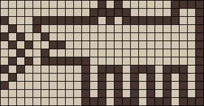 Alpha pattern #14297