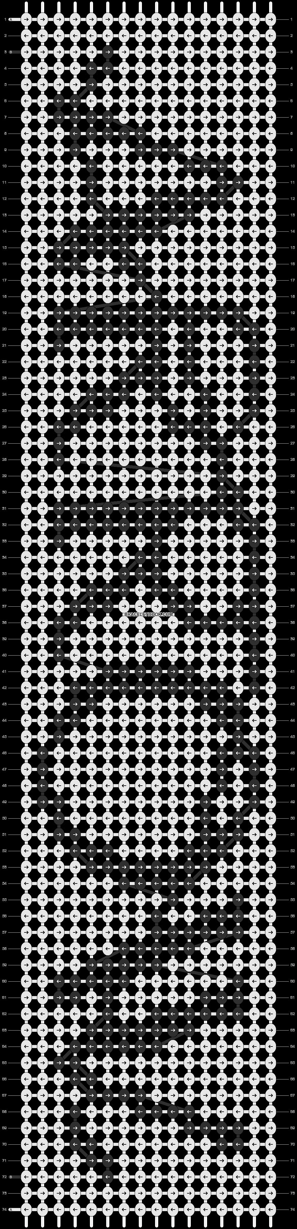 Alpha pattern #14298 pattern