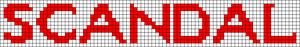 Alpha pattern #14299